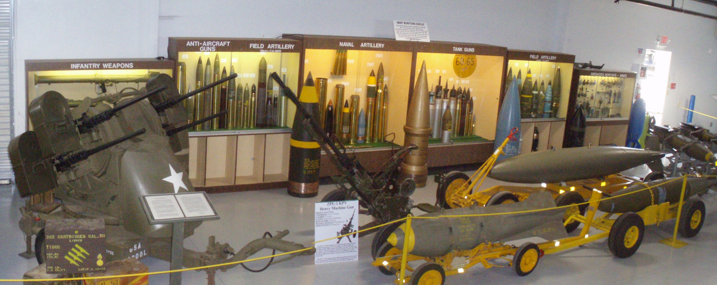 Munitions Display
