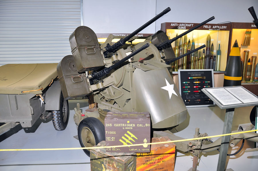 Quad 50 Caliber Machine Gun