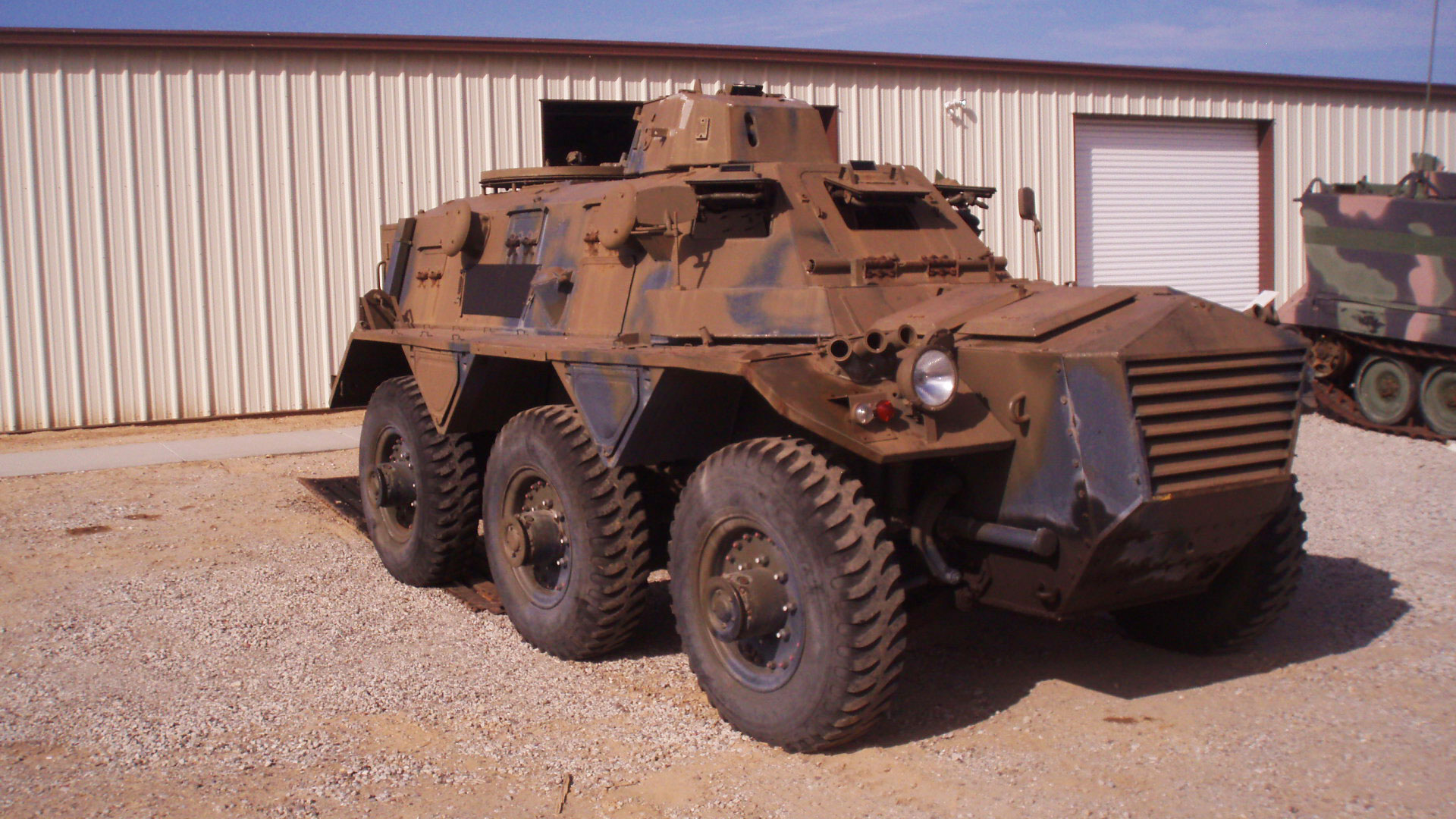British Armoured Personnel Carrier