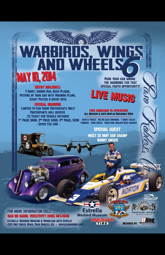 Welcome To Estrella Warbirds Museum Warbirds Wings Wheels - Paso robles car show