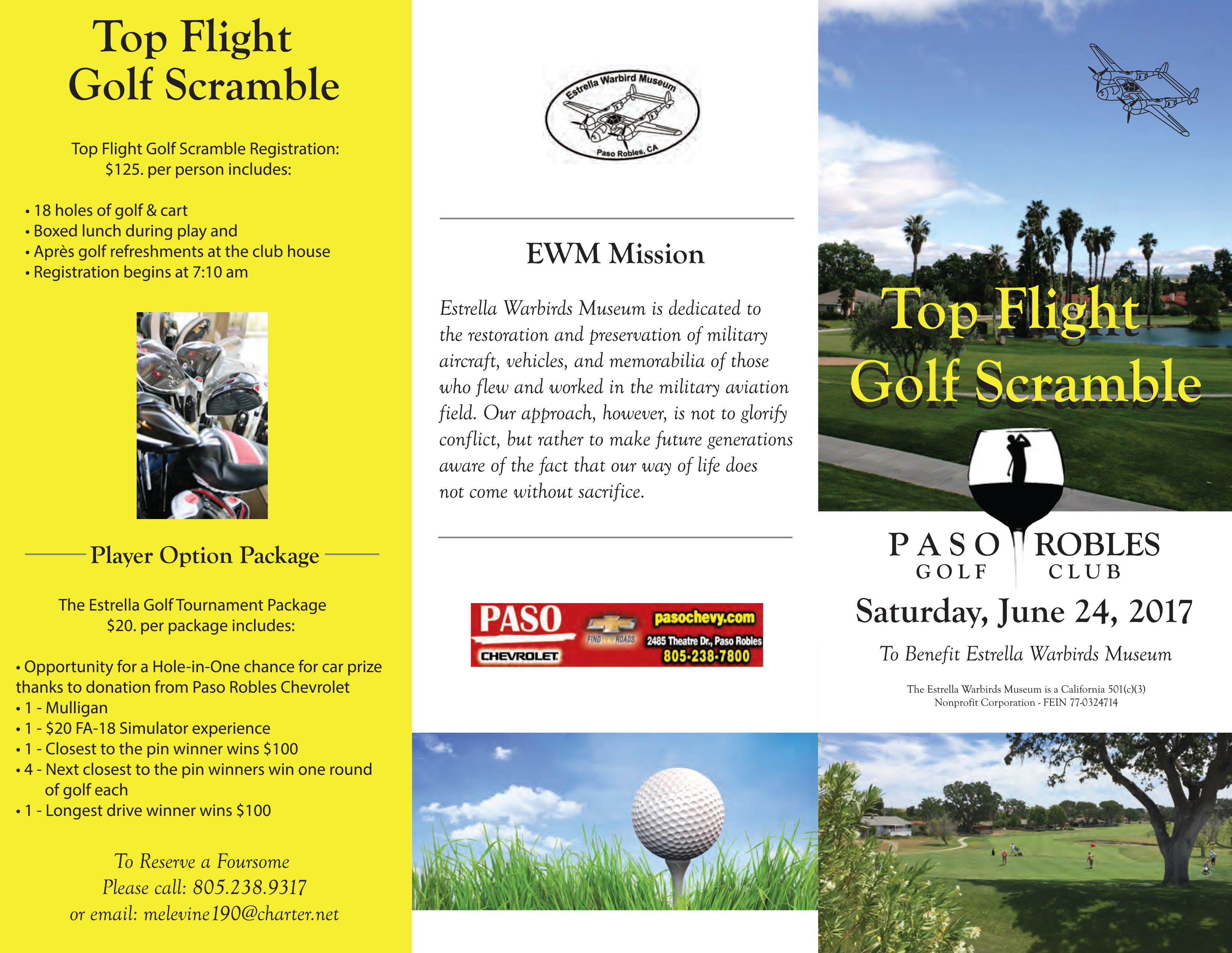 Top Flight Golf Scramble